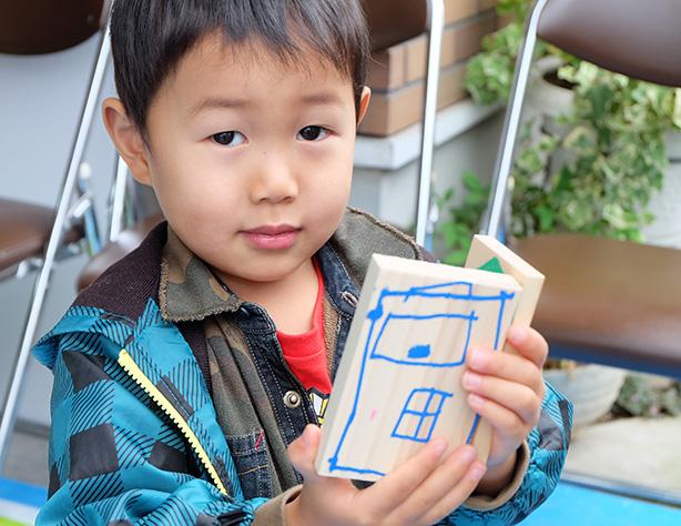 香川デザイン積み木で遊ぼ