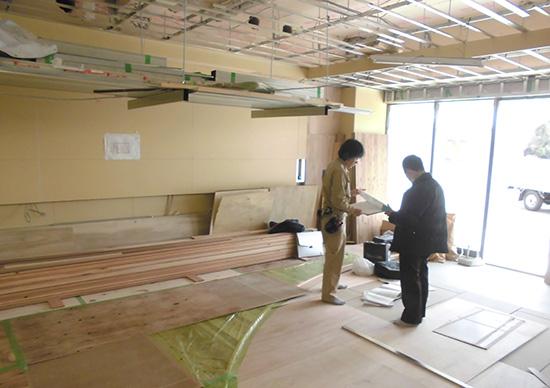 大阪内装工事 香川デザインの工事写真